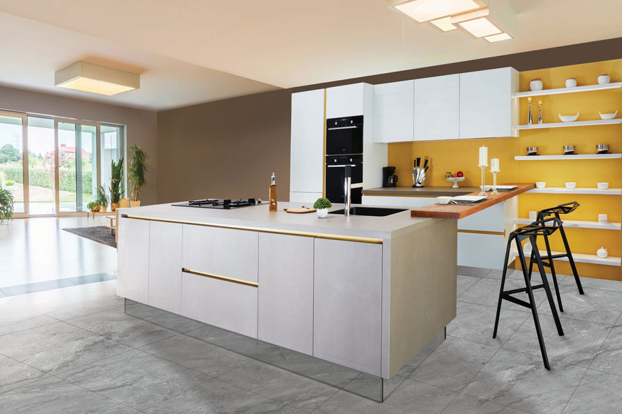 Modular kitchen Island shape